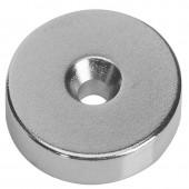 Неодимовый магнит диск 30х10 мм с зенковкой 10/5 мм