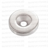 Неодимовый магнит диск 10х5 мм с зенковкой 4/7 мм