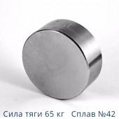 Неодимовый магнит 40х20 мм