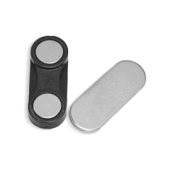 Магнит для бейджей пластик 32х13