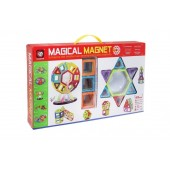 Магнитный конструктор Magical Magnet 52 детали