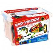 Магнитный конструктор Mag-Wisdom 55 деталей