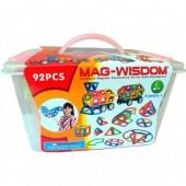 Магнитный конструктор Mag-Wisdom 92 детали