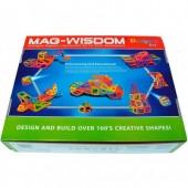 Магнитный конструктор Mag-Wisdom 77 деталей