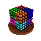 НеоКуб 6 мм (разноцветный 8 цветов), 216 элементов
