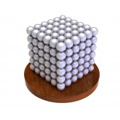 НеоКуб 6 мм (жемчужный), 216 элементов
