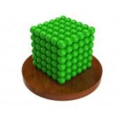Куб из магнитных шариков 5 мм (неоновый), 216 элементов