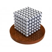 НеоКуб 5мм (серебряный), 216 элементов